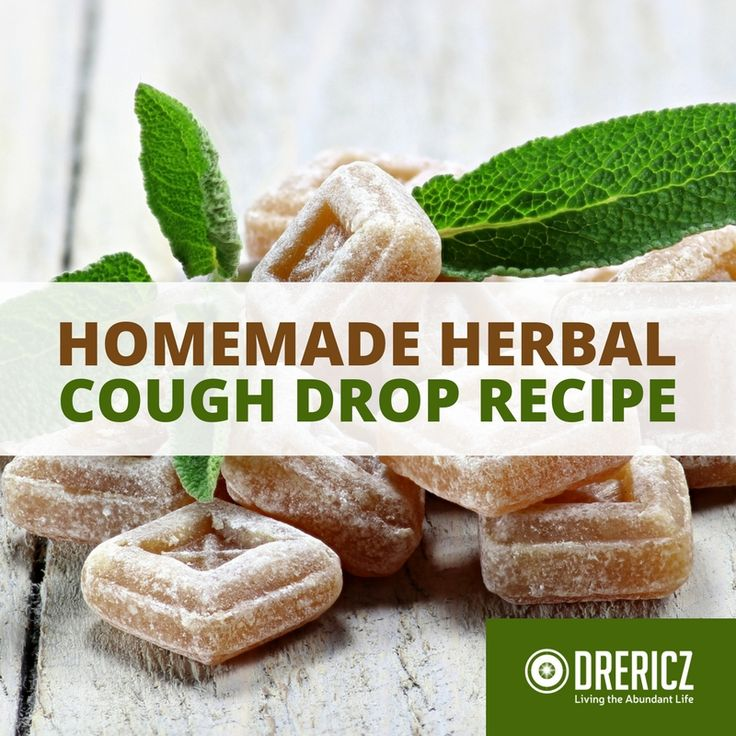 Say goodbye to sugary cough drops full of artificial colors and flavors and make your own natural cough drops with this homemade cough drop recipe!