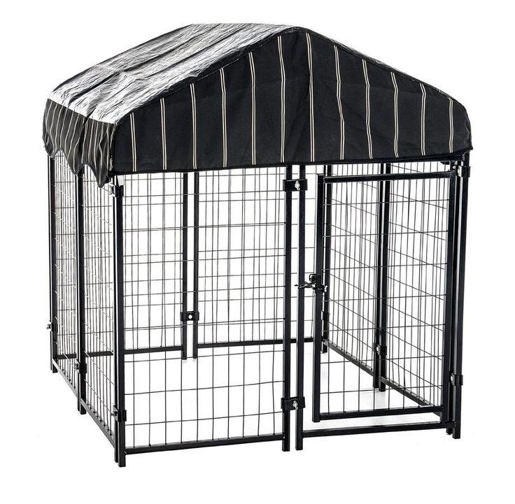 lucky dog pet resort kennel with cover