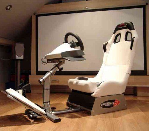 Racing Simulator Toys Gaming Chair Video Game Rooms