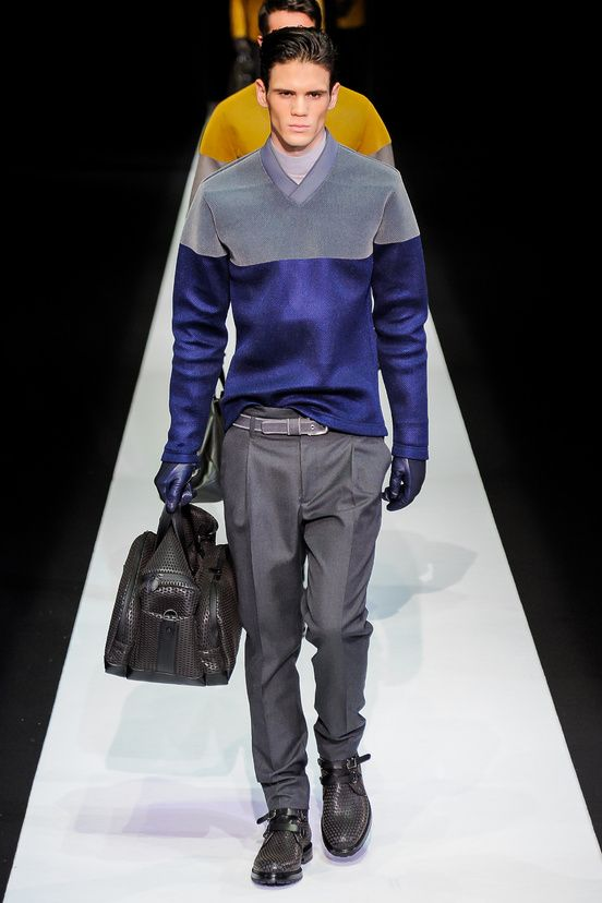 Men Fashion Week Automne-Hiver 2013/14 : Emporio Armani