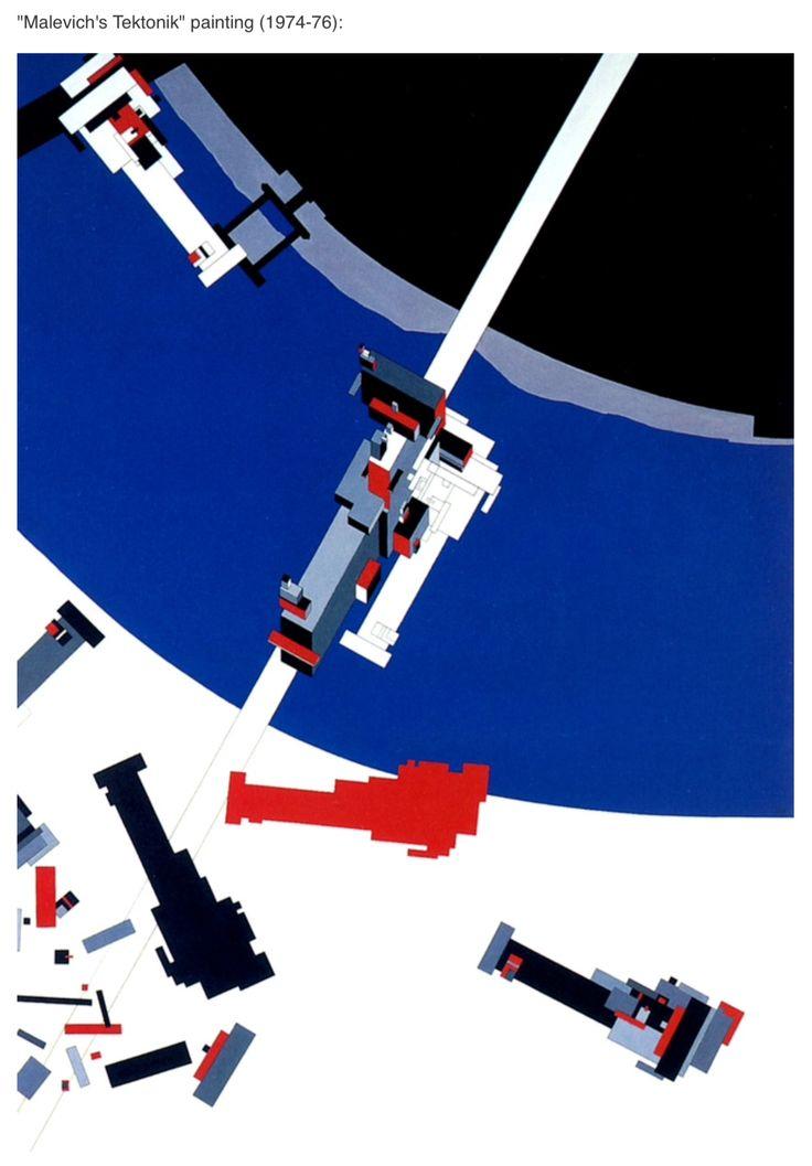"""Zaha Hadid """"Malevich's Tektonik"""""""