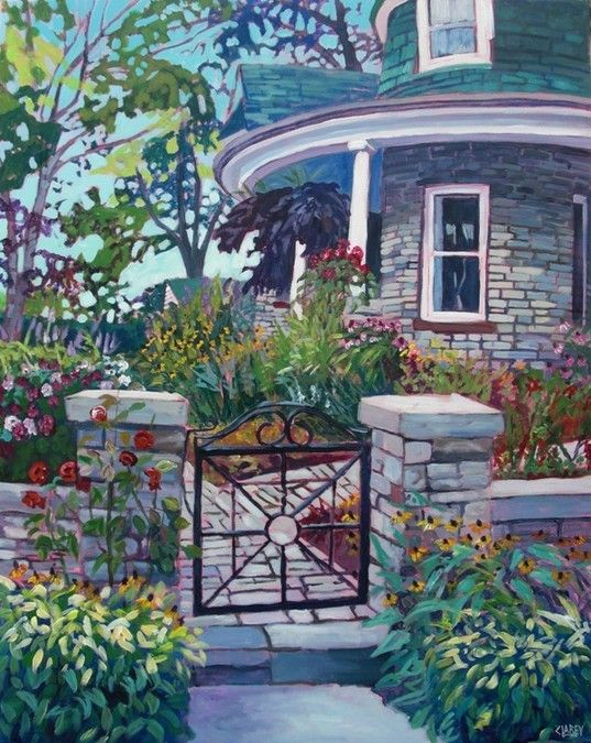 The Cottage Gate by Anna Clarey