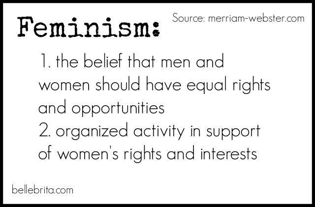 Feminism 101 how to define feminism