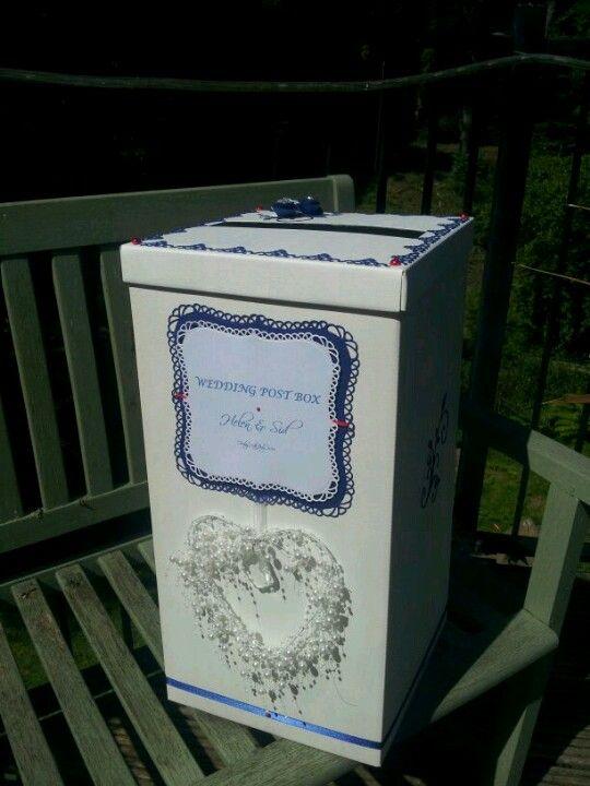 Wedding post box www.facebook.com/thatspecialdaystationery £25