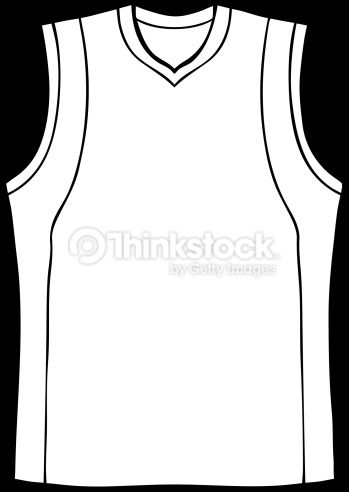 vector art  basketball jersey