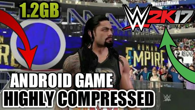 Technical Point GamerX: WWE 2K17 OFFICIAL GAME FOR PPSSPP BY