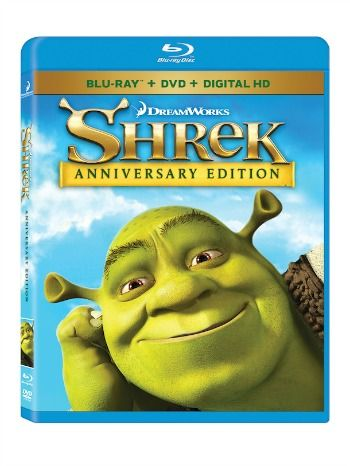 Enter to win the Shrek Anniversary Edition Blu-Ray DVD on TwoClassyChics Blog #Sponsored Giveaway