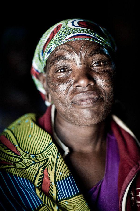 Barbaig woman, Tanzania