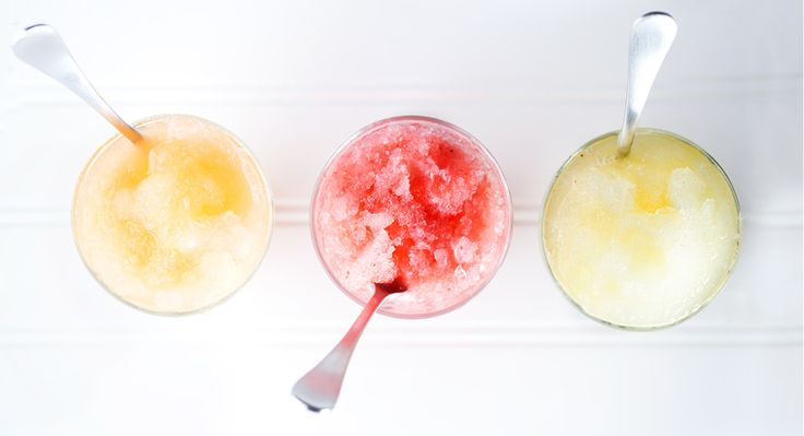 Turn ice into snow within seconds in your Blendtec then top it with one of these three fresh-fruit syrups!