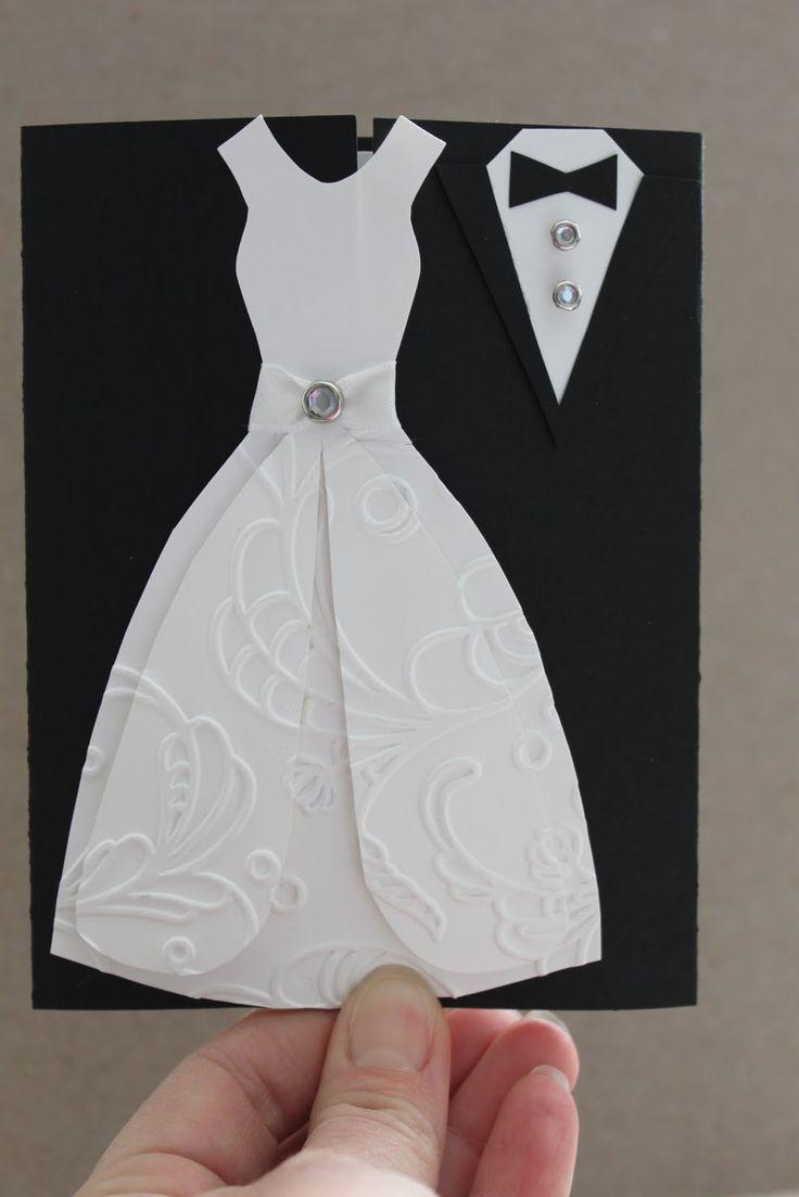 Свадебное платье на открытке, рисунки надписью новый