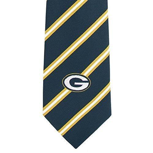 NFL Packers Necktie 56 X 35 Football Themed Mens Accessory Sports Patterned Team Logo Fan Merchandise Athletic Team Spirit Fan Green Gold Polyester