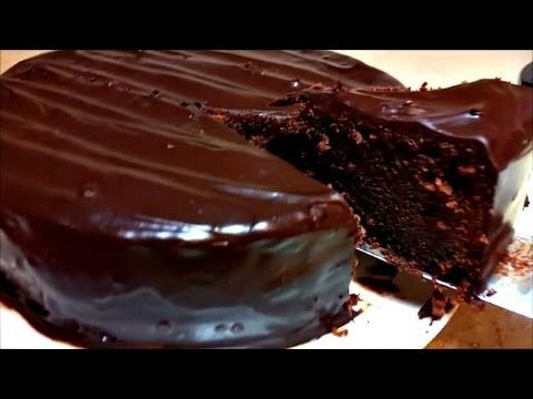 Chocolate Cake Recipe (Chocolate Mud Cake) - http://2lazy4cook.com/chocolate-cake-recipe-chocolate-mud-cake/