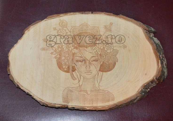 wood engraving by gravez.ro