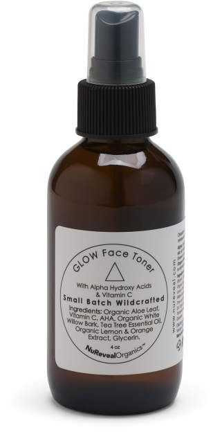 4oz Natural Glow Face Toner