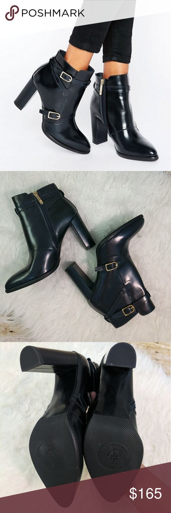 Gigi Hadid Tommy Hilfinger Nautical Booties SZ 11 New without tags or box. This is a size 11 but I would recommend for someone a size and nine and a half of 10. They are a little bit narrower at the toe. They are sold out pretty much everywhere. Price is firm. Tommy Hilfiger Shoes Ankle Boots & Booties