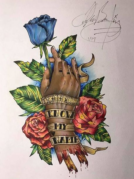 Entry by Tyler Allen Belding for our Inked competition.
