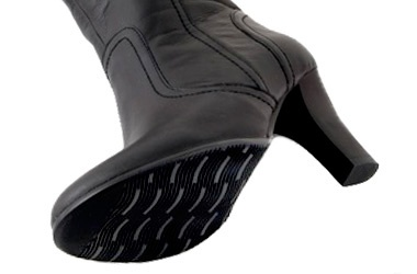7cm heel gives hight without feeling sky high.
