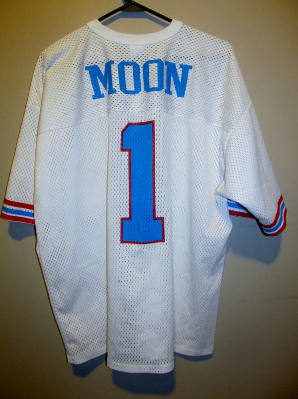 pick up e9de8 8f711 authentic warren moon mens throwback jersey tennessee titans ...