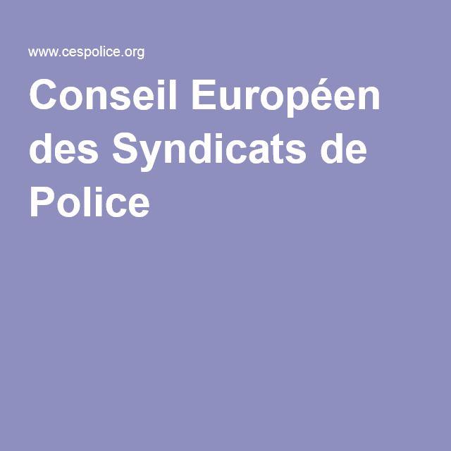 Conseil Européen des Syndicats de Police