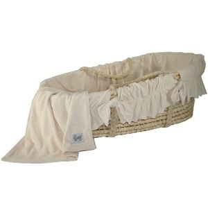 Exceptional Organic Moses Basket : Wendy Anne Cozy Baby Moses Basket :: Baby Eco Trends  $199 Nice Ideas