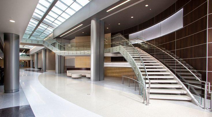Stengel Hill Architecture - TJ Sampson Health Pavilion - Glasgow, Kentucky (Monumental Stair)