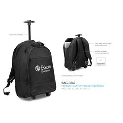 Branded Paragon Laptop Trolley Backpack | Corporate Logo Paragon Laptop Trolley Backpack | Corporate Gifts
