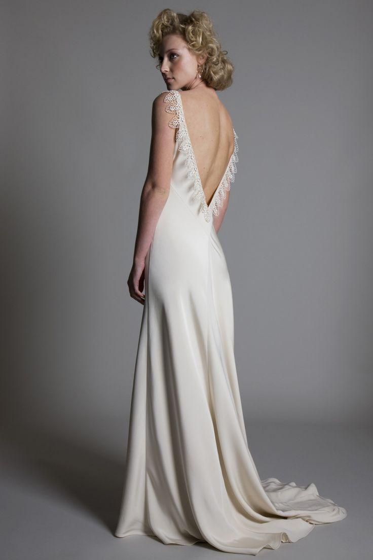 Awesome Silk Satin Wedding Dress Gallery - Styles & Ideas 2018 ...