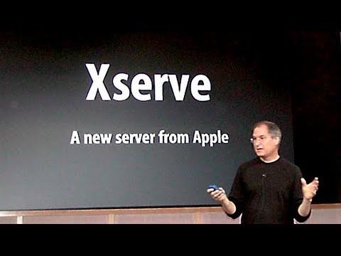 Steve Jobs introduces Xserve - Apple Special Event (2002)