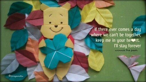 Winnie the pooh Folder #zusannawoe IG: ZusannasCraft