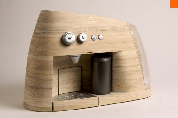 Functional and Elegant Scandinavian Coffee Machine