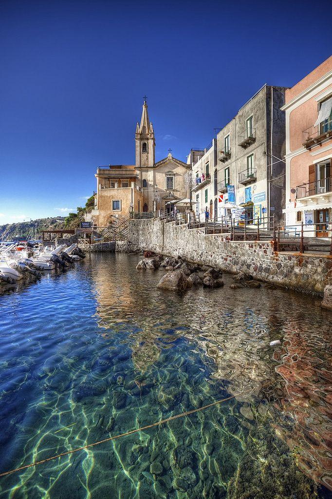 Lipari: Marina Corta - Chiesa di S. Giuseppe #eolie #lipari #sicily