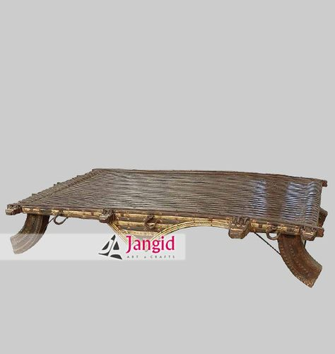 This is Indian Wooden Traditional Cart Cafeteria Center Table. We are  Manufacturer and Exporter of