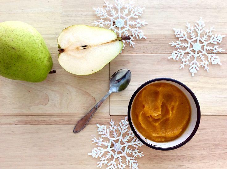 Hruškovo-dýňová přesnídávka s vanilkou