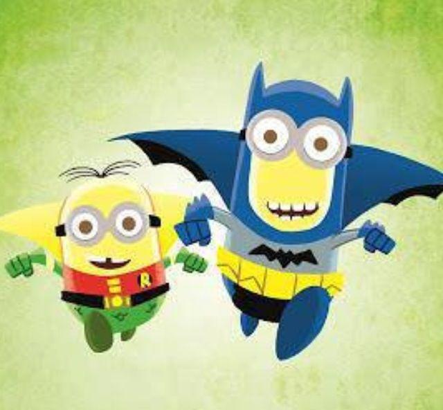 Batman and Robin Minions <3