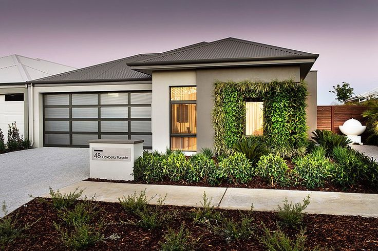 Amazing builder using integrated design of outside and inside . Botanica by Dale Alcock Homes