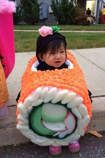 Photo: The cutest piece of sushi you'll see today.