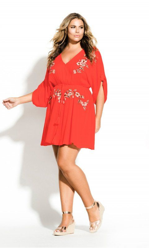 1687c5f976b Shop Women's Plus Size Seville Tunic - tigerlilly - Dresses | City Chic USA  #plussize #curvy