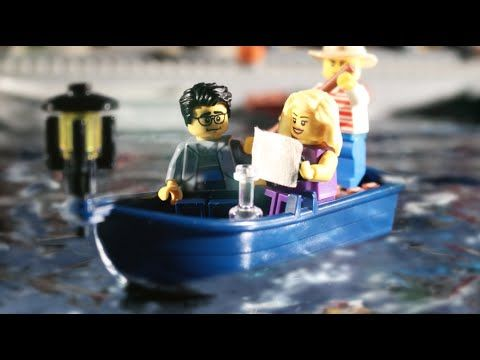 """""""My Love Story in LEGO"""" #nerdlove from #brotherhoodworkshop  Officially cutest LEGO video in existence."""