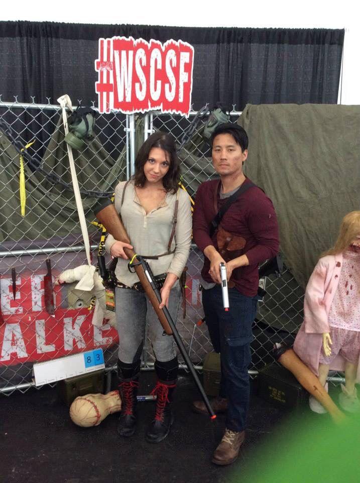 Glenn and maggie cosplay