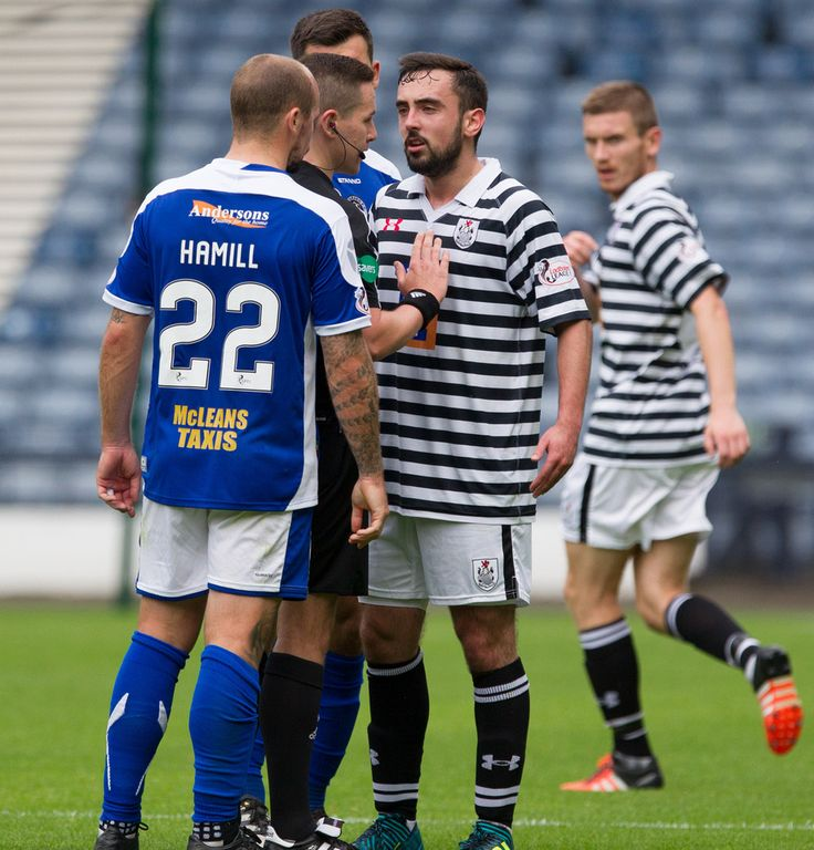 Queen's Park's Anton Brady in action during the SPFL League One game between Queen's Park and Stranraer.