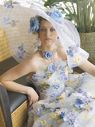 ~Beautiful Flowered Hat~