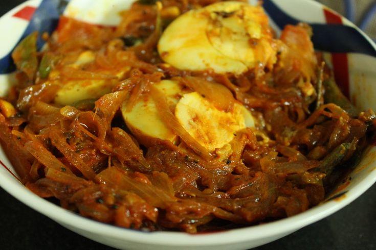 Tangy egg roast