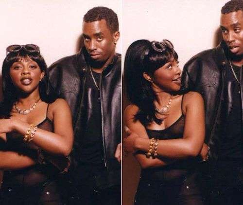 Lil' Kim and Puffy or P.Diddy or Diddy or Sean John or Sean Combs or Sean John Combs or........