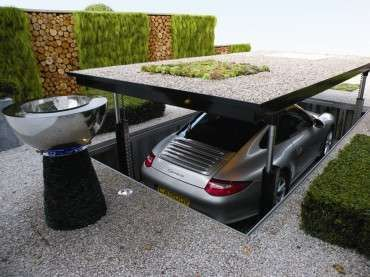 Luxurious Elevator Garages - The Cardok Multi is the Perfect Accessory for A Secret Agent (GALLERY)