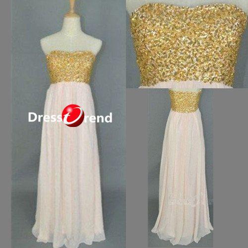 long Party Dress  holiday party dress Chiffon  prom dress