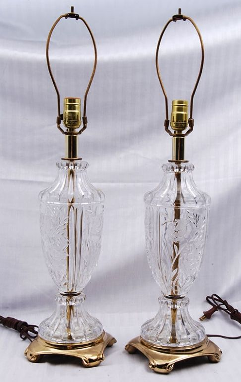 Large Crystal Lamps