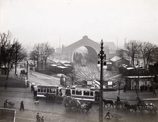 Københavns 2. Hovedbanegård, 1910