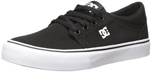 cheaper aa273 51b9e DC Shoes Men's Trase TX Shoes Black / White 9.5 | loafers ...