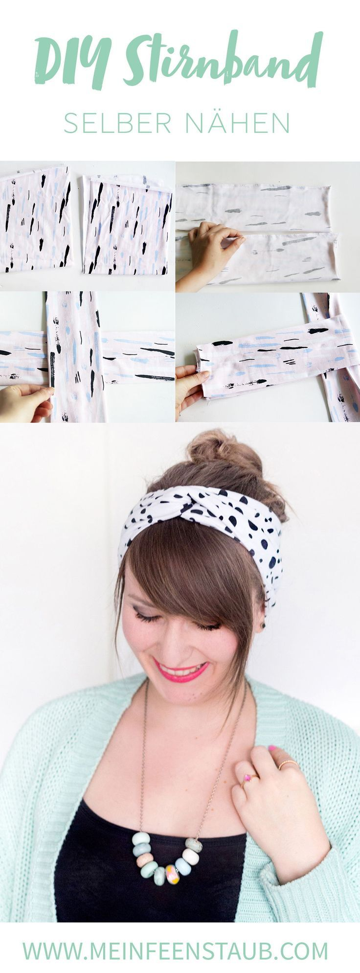 DIY: sew turban headband