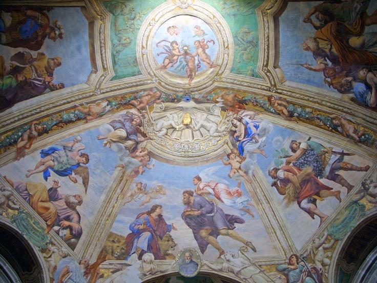 Ortigia Cathedral ceiling, Syracuse